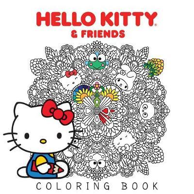 Hello Kitty & Friends Coloring Book by Various ~