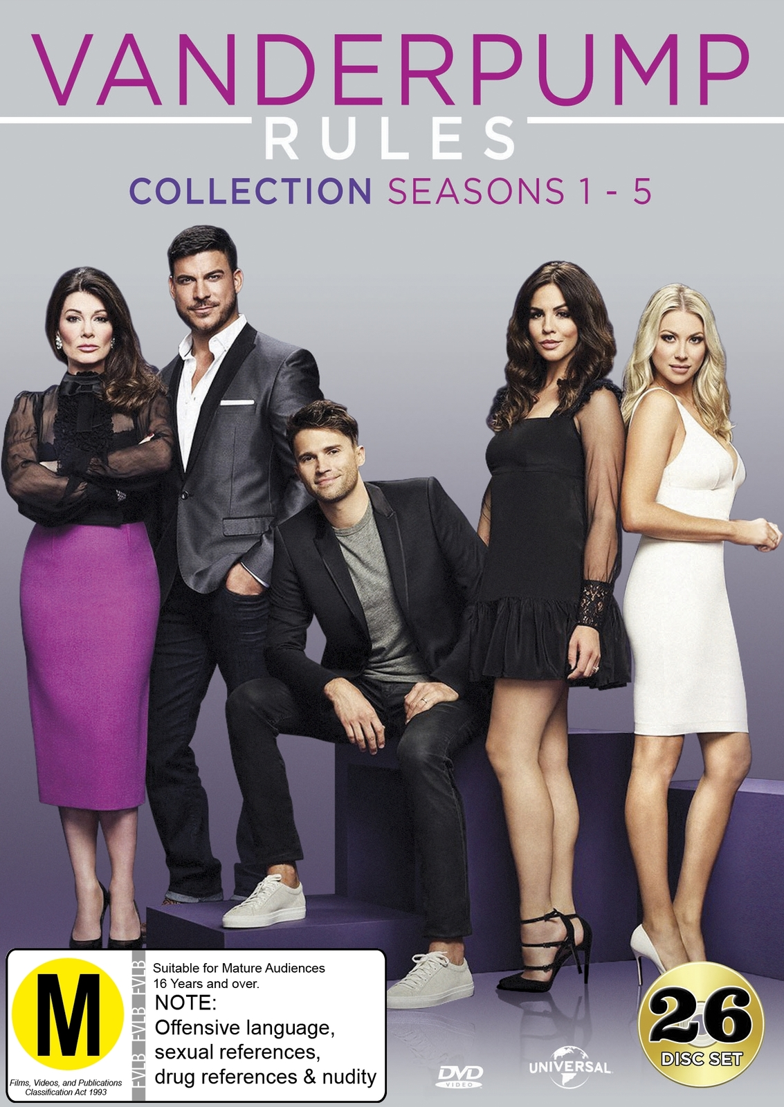 Vanderpump Rules Collection (Seasons 1-5) on DVD image