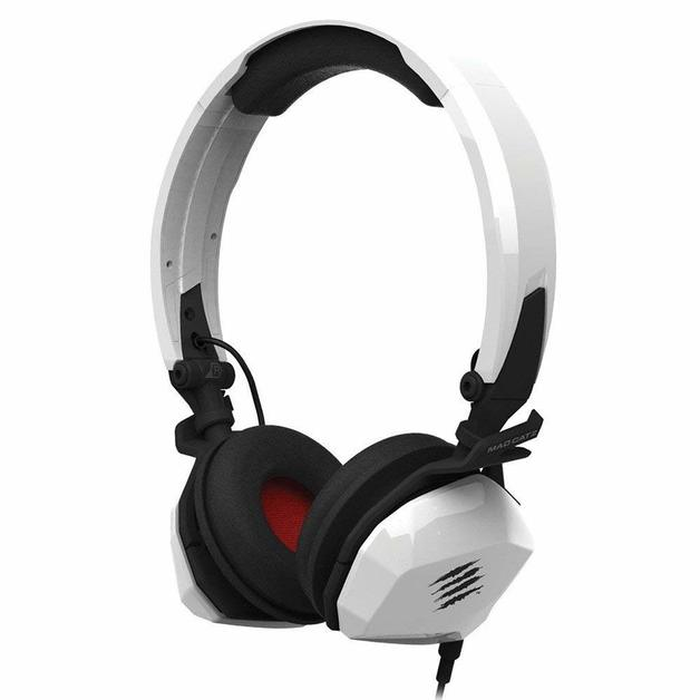 Mad Catz F.R.E.Q M Wired Gaming Headset (White) for