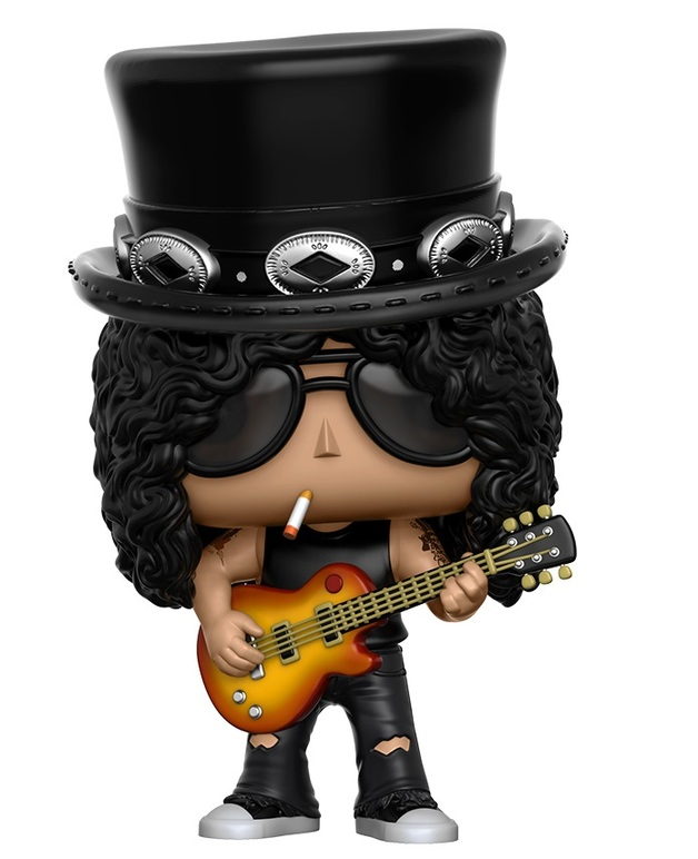 Slash Guns N Roses POP Rocks #51 Vinyl Figur Funko