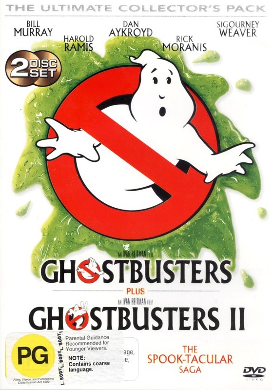 Ghostbusters 1 & 2 Ultimate DVD Pack on DVD