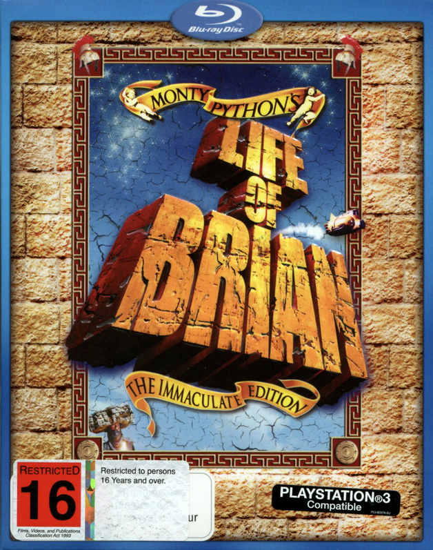 Monty Python's Life Of Brian - The Immaculate Edition on Blu-ray