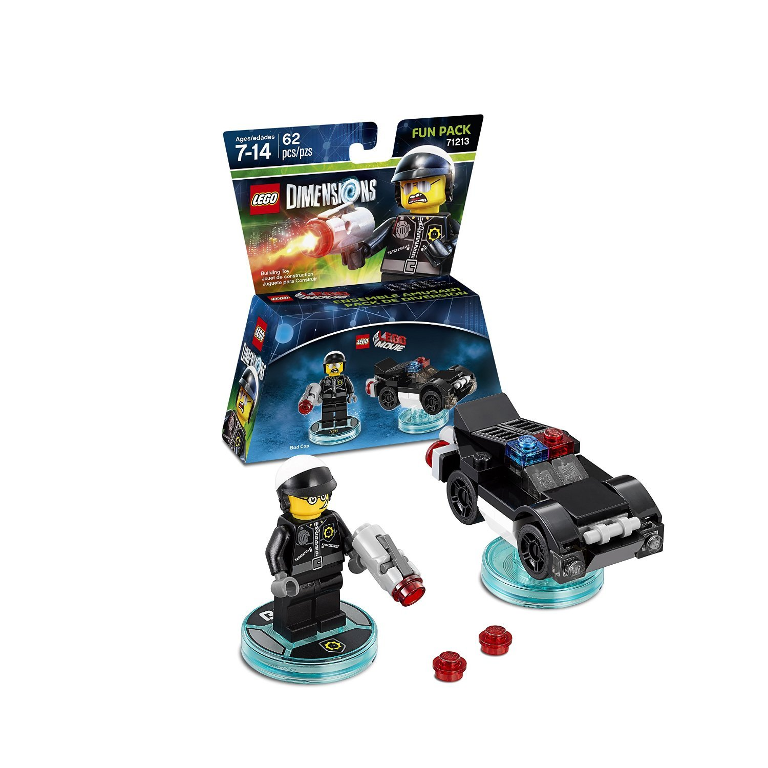 LEGO Dimensions Fun Pack - The Lego Movie: Bad Cop (All Formats) for  image