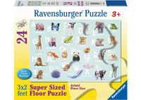 Ravensburger – Animal Alphabet SuperSize Puzzle 24pc