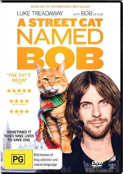 A Street Cat Named Bob on DVD image