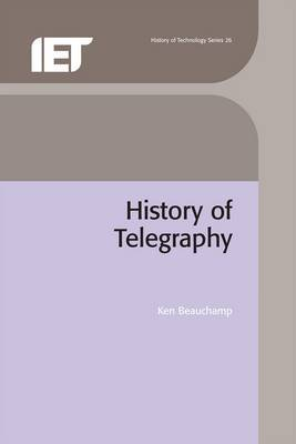 A History of Telegraphy by K.G. Beauchamp image