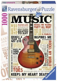 Ravenburger - Passion For Music Puzzle (1000pc)