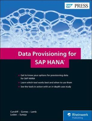 Data Provisioning for SAP HANA by Megan Cundiff