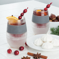 Wine FREEZE Cooling Cups (set of 2) image