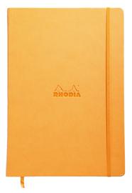Rhodia Webbie A4 Notebook Dot Grid - Orange