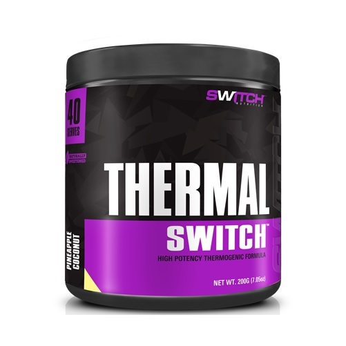 Thermal Switch - High Potency Thermogenic Formula - Pineapple Coconut (40 Serves) image