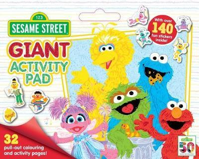 Sesame Street: Giant Activity Pad image