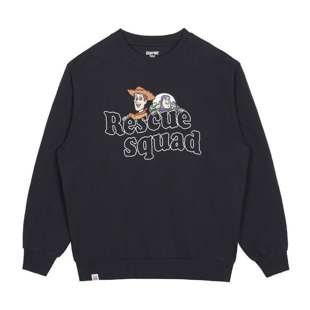 SPAO x Disney - Toy Story Sweatshirt Charcoal XL