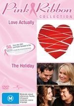 Love Actually / The Holiday - Pink Ribbon Collection (2 Disc Set)  on DVD
