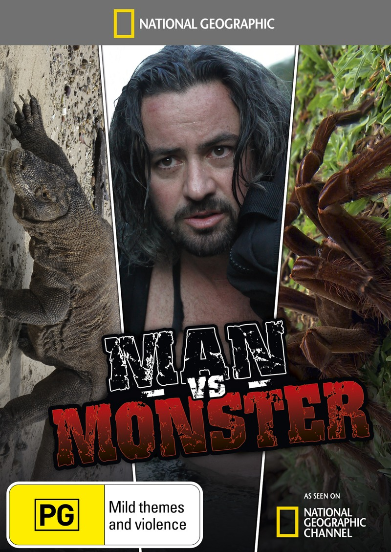 National Geographic: Man Vs Monster on DVD image