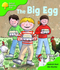 Oxford Reading Tree: Stage 2: First Phonics: the Big Egg by Roderick Hunt image