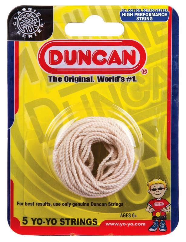 Duncan: Yo-Yo Strings (White) - 5 pack