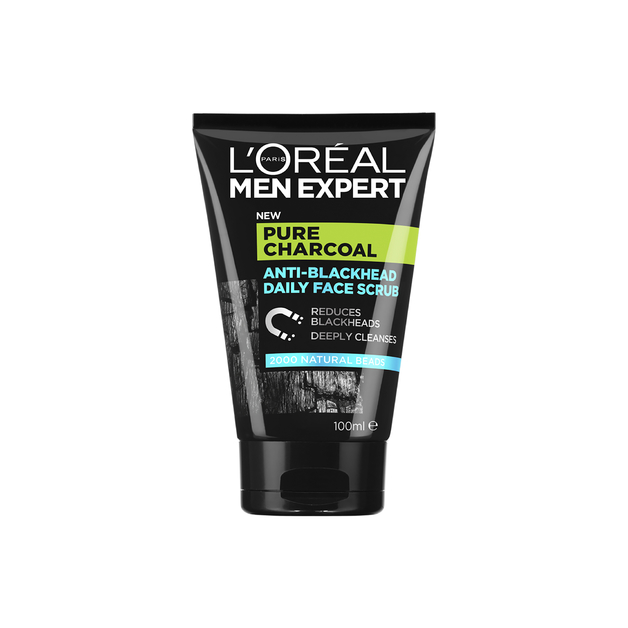L'Oreal Men Expert - Pure Power Scrub (100ml)