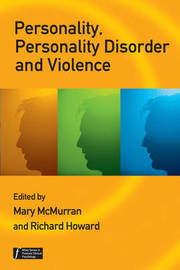 Personality, Personality Disorder and Violence image