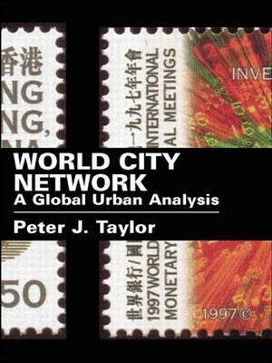 World City Network by Peter J Taylor image