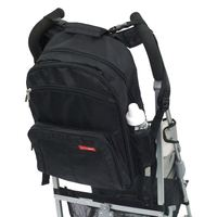 Skip Hop: Via Backpack Nappy Bag - Black
