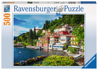Ravensburger: Lake Como, Italy- 500pc Puzzle