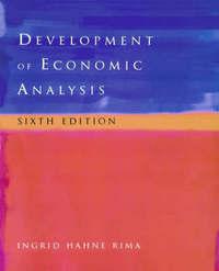 Development of Economic Analysis by Ingrid H. Rima image