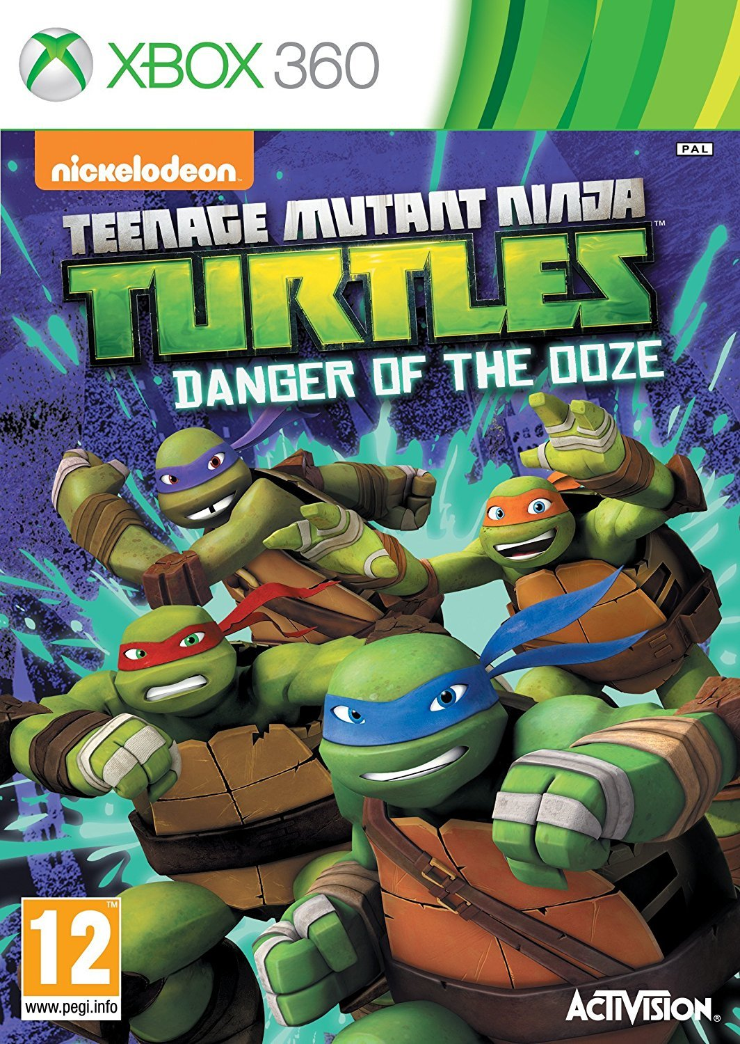 Teenage Mutant Ninja Turtles: Danger of the Ooze for Xbox 360 image