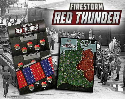 Team Yankee Firestorm: Red Thunder (Campaign Kit) image