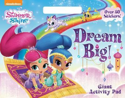 Shimmer and Shine Dream Big Giant Activity Pad image
