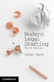 Modern Legal Drafting by Peter Butt