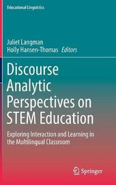 Discourse Analytic Perspectives on STEM Education image