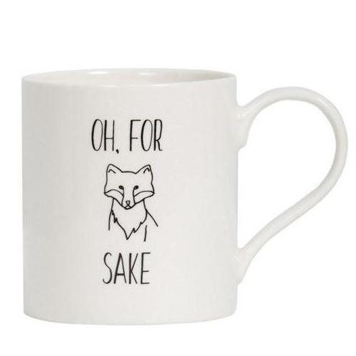 General Eclectic Mug - For Fox Sake image