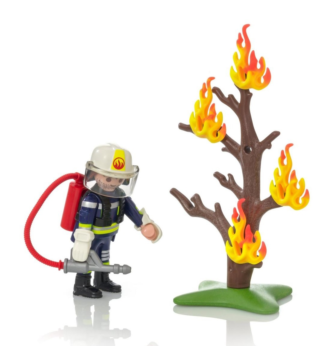 Playmobil: Firefighter with Tree (9093) | Toy | at Mighty Ape NZ