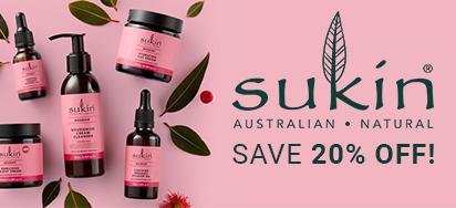 20% off Sukin Skincare