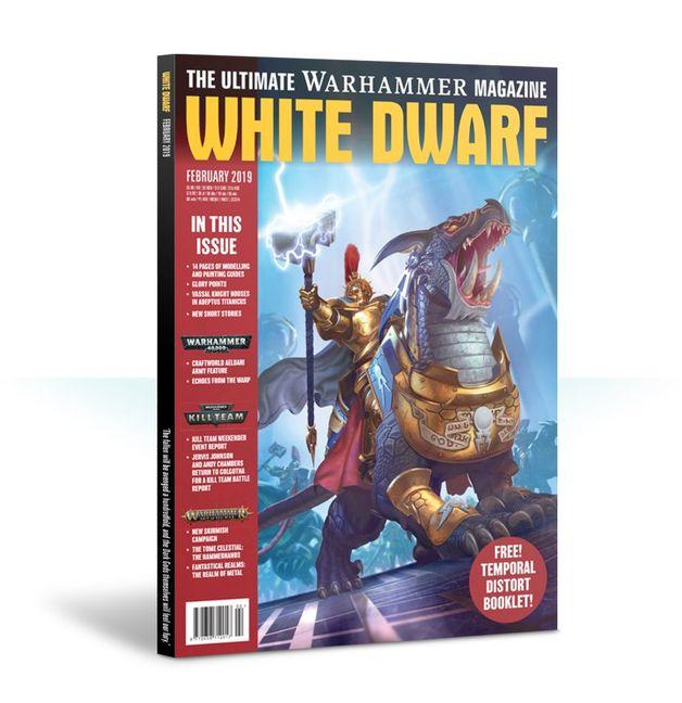White Dwarf: February 2019