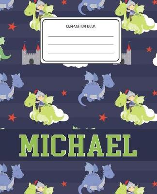 Composition Book Michael by Dragons Animal Composition Books image