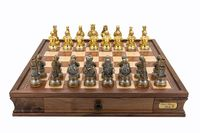 "Dal Rossi: Medieval Warriors - 20"" Chess Set"