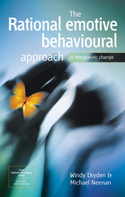 The Rational Emotive Behavioural Approach to Therapeutic Change by Windy Dryden image