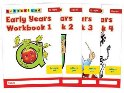 Early Years Workbooks: No. 1-4 by Louis Fidge image