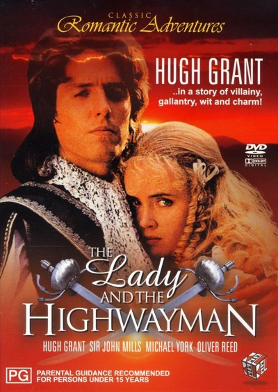 The Lady And The Highwayman on DVD