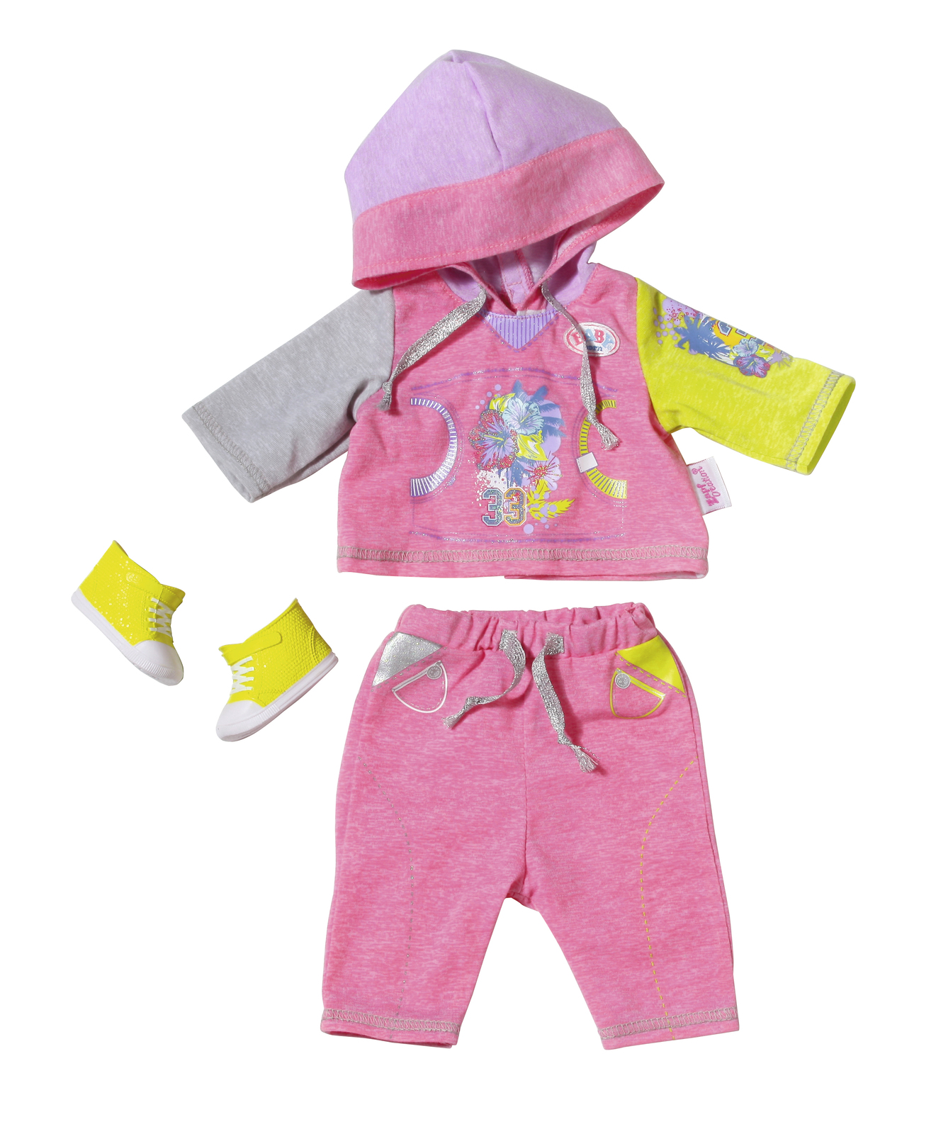 Baby Born - Deluxe Jogging Set - Pink image