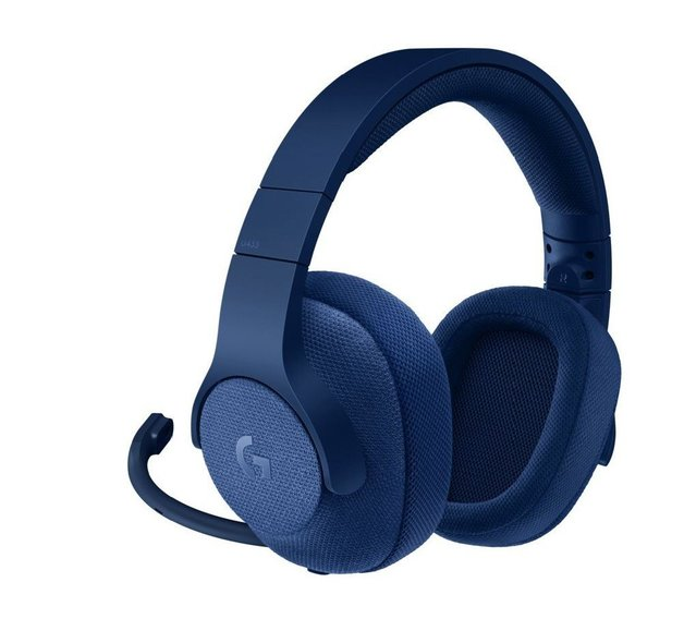 Logitech G433 7.1 Surround Gaming Headset - Blue for PC Games