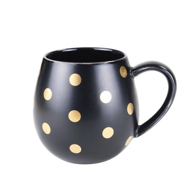 Robert Gordon: Hug Me Mug Set (Black and Gold Spot)