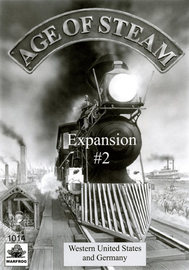 Age of Steam: Germany & West USA Expansion #2 image