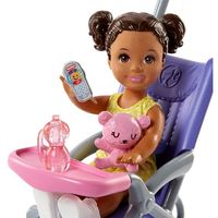 Barbie: Babysitters Inc. - Doll & Playset (Stroller) image