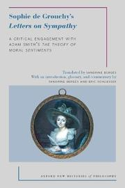 Sophie de Grouchy's Letters on Sympathy by Sophie de Grouchy