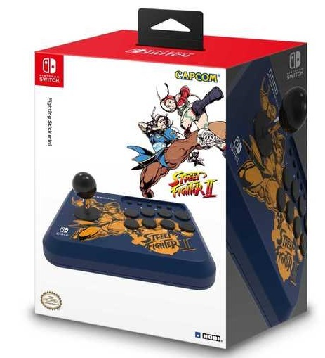 HORI Nintendo Switch Mini SF Fighting Stick - Blue for Switch