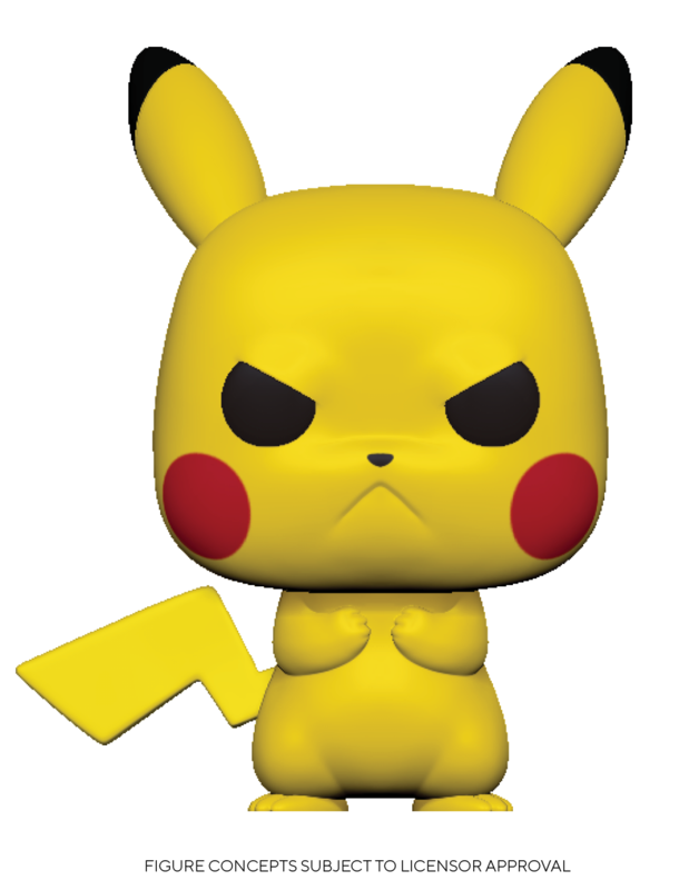 Pokemon: Pikachu (Grumpy) - Pop! Vinyl Figure
