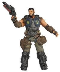 Gears of War 3 Dom Santiago Action Figure - Series 2 image